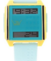 Buy LTD Watch Unisex Blue And Yellow Mix And Match Digital Watch online