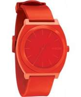 Buy Nixon The Time Teller Red Watch online
