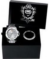 Buy Marc Ecko Mens The Score Silver Watch online