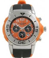 Buy Krug Baumen Kingston Orange Sports Chronograph Watch online