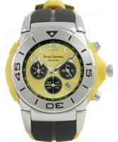 Buy Krug Baumen Kingston Mens Yellow Sports Chronograph Watch online