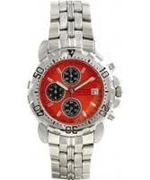 Buy Krug Baumen Sportsmaster Orange Chronograph Watch online