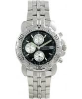 Buy Krug Baumen Sportsmaster Black Chronograph Watch online