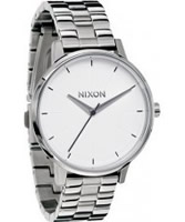Buy Nixon The Kensington White Steel Watch online