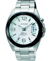 Buy J Springs Mens White Perpetual Calendar Watch online
