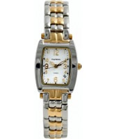 Buy Krug Baumen Ladies Tuxedo Silver Gold Watch online