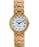 Buy Krug Baumen Mens Charleston White Gold Watch online