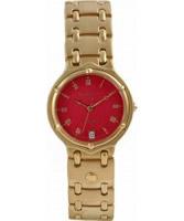 Buy Krug Baumen Mens Charleston Red Gold Watch online