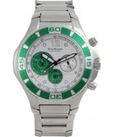 Buy Krug Baumen Mens Challenger Silver Chronograph online