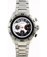 Buy Krug Baumen Mens Ballistic Black Steel Watch online