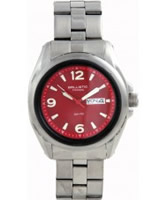 Buy Ballistic Mens Typhoon Red Steel Sports Watch online