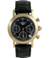 Buy Krug Baumen Enterprise Diamond Black-Gold Dial online