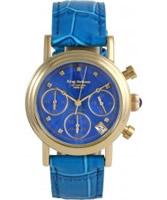 Buy Krug Baumen Enterprise Diamond Blue-Gold Dial online