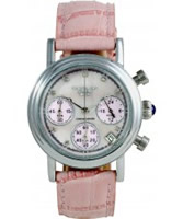 Buy Krug Baumen Enterprise Diamond Pink Dial online