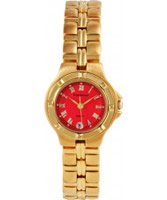 Buy Krug Baumen Ladies Baron Red Dial online