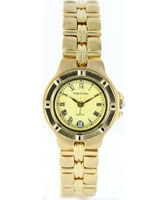 Buy Krug Baumen Ladies Baron Yellow Dial online