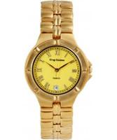 Buy Krug Baumen Gents Baron Yellow Dial online