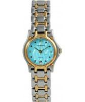 Buy Krug Baumen Ladies Marquis Two Tone Blue Dial online