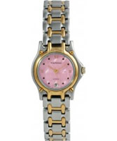 Buy Krug Baumen Ladies Marquis Two Tone Pink Dial online