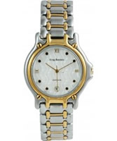 Buy Krug Baumen Gents Marquis Two Tone White Dial online