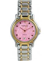 Buy Krug Baumen Gents Marquis Two Tone Pink Dial online