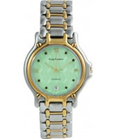 Buy Krug Baumen Gents Marquis Two Tone Green Dial online