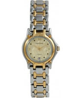 Buy Krug Baumen Gents Marquis Two Tone Gold Dial online