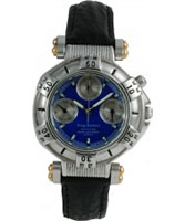 Buy Krug Baumen Adventurer Ladies Blue Dial online
