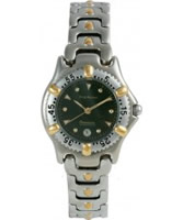 Buy Krug Baumen Ladies Oceanmaster Green Dial online