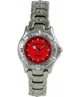 Buy Krug Baumen Ladies Oceanmaster Red Dial online