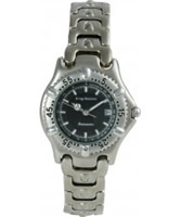 Buy Krug Baumen Ladies Oceanmaster Black Dial Watch online