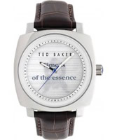 Buy Ted Baker Mens White Brown Watch online
