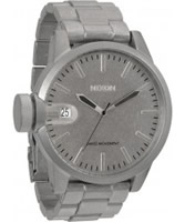Buy Nixon Mens Chronicle SS All Raw Steel Watch online