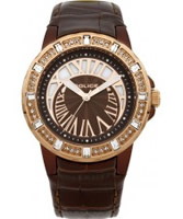 Buy Police Ladies Crescent Brown Watch online