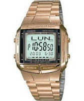 Buy Casio Mens Collection Databank Gold Watch online