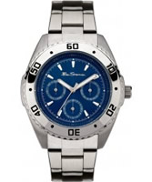 Buy Ben Sherman Mens Navy Silver Blue Watch online