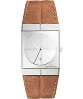 Buy Jacob Jensen Mens Icon Brown Watch online