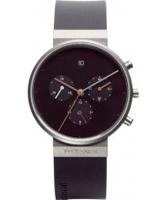 Buy Jacob Jensen Mens Chronograph Black Watch online