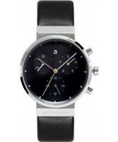 Buy Jacob Jensen Ladies Chronograph Black Watch online