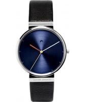 Buy Jacob Jensen Mens Dimension Black Watch online
