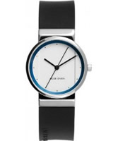 Buy Jacob Jensen Ladies Black White Watch online