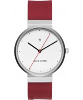 Buy Jacob Jensen Mens Red White Watch online
