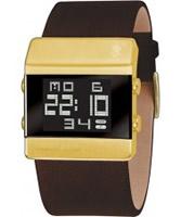 Buy Black Dice Mens Heist Brown Digital Watch online