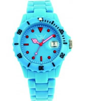 Buy LTD Watch Unisex Plastic 3 Hand Watch With Blue Dial And Blue Strap online