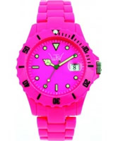 Buy LTD Watch Plastic 3 Hand Shocking Pink Watch online