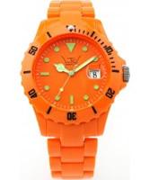 Buy LTD Watch Unisex Orange Dial And Strap Watch online