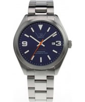 Buy LTD Watch Unisex Limited Edition Dark Blue Steel Watch online