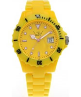 Buy LTD Watch Unisex Yellow Dial And Strap Watch online