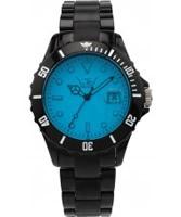 Buy LTD Watch Unisex Blue Dial Black Strap Watch online