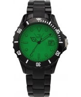 Buy LTD Watch Unisex Green Dial Black Strap Watch online